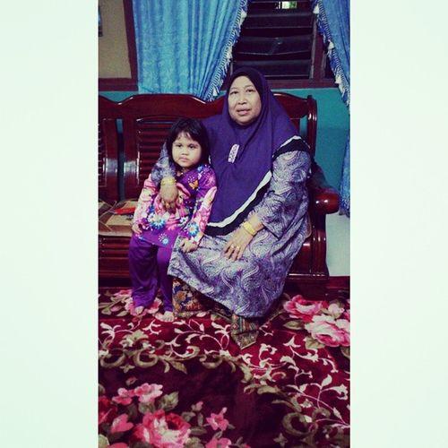 thanks mak sudi masak untuk jamuan ni..walaupun penat mak buat jgak...you are best mother in world..thanks a lots mommmmm Jamuan Raya Part7