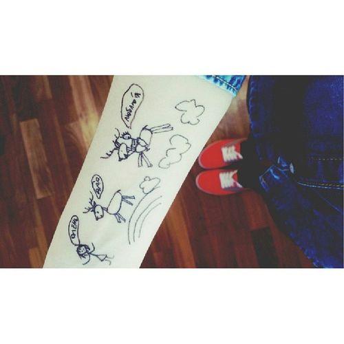 Me Myarm Soawesome Ihatemyfriend mewithmyprince wtf art illustration draw hand awesome pen beautifulиcreative ✒