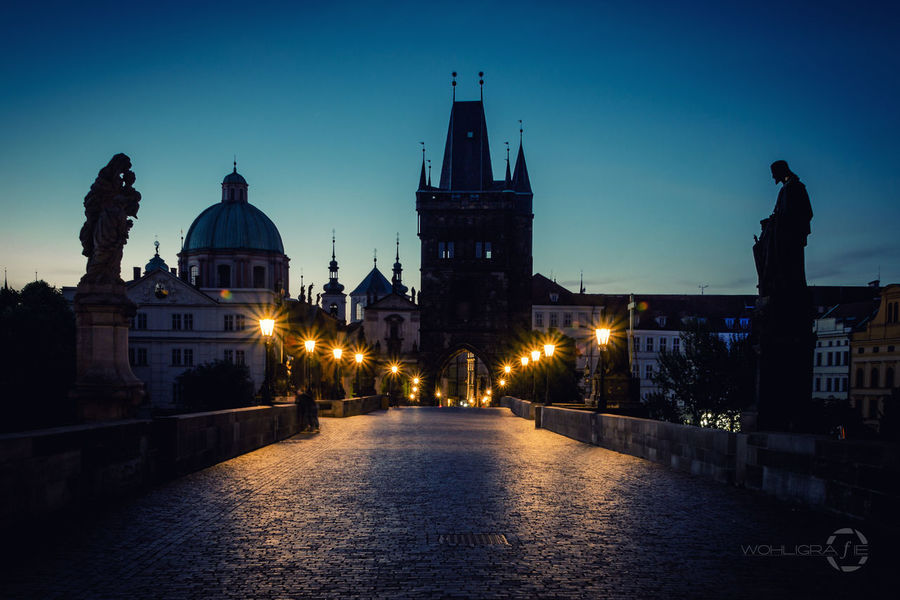 Charles Bridge, Prague Hanging Out Taking Photos Check This Out Hello World Prague Praha ❤️ Enjoying Life Traveling Travel Photography City Cityscapes City Lights Long Exposure Dawn Of A New Day Night Lights Architecture Vacation