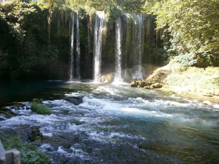 Beauty In Nature Day Green Long Exposure Motion Nature Nature No People Outdoors Parallel Waterfall Scenics Water Waterfall WOW