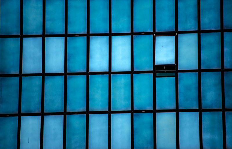 Cityscape La Défense Paris Architecture Backgrounds Blue Close-up Day Full Frame Grid Indoors  No People Pattern Urban Window The Graphic City