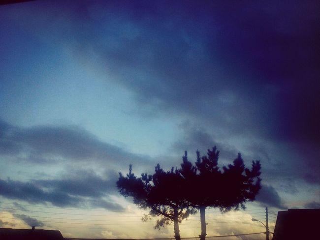 Paisaje Invierno jiji nublado♥