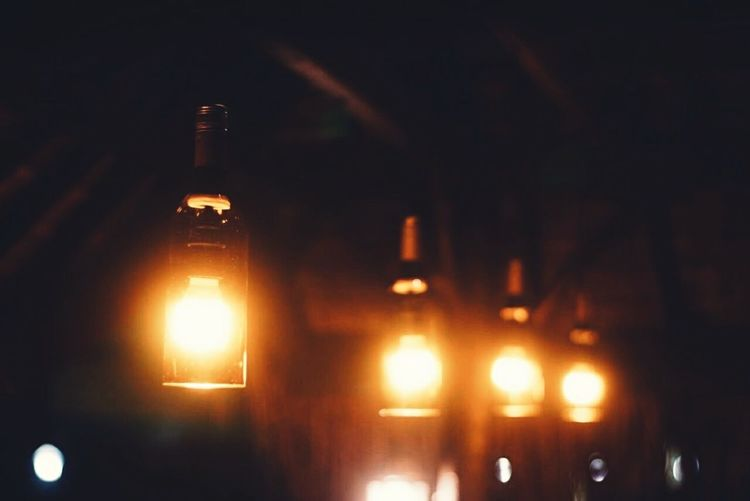 Look at the interior Bottle Interior Views Lamp Interior