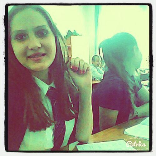 :) Daydreaming At School Class First Eyeem Photo