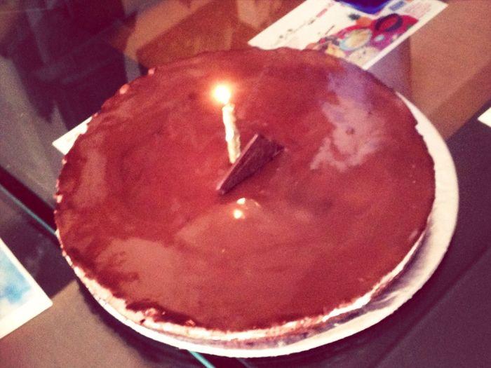 Birthday Cake Selfmade Cake Chocolate Moose Cake