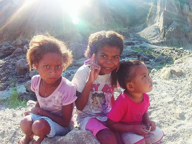 Aetas Kids GirlsIndigenous People Of The Philippines Indigenous Beauty Curly Hair