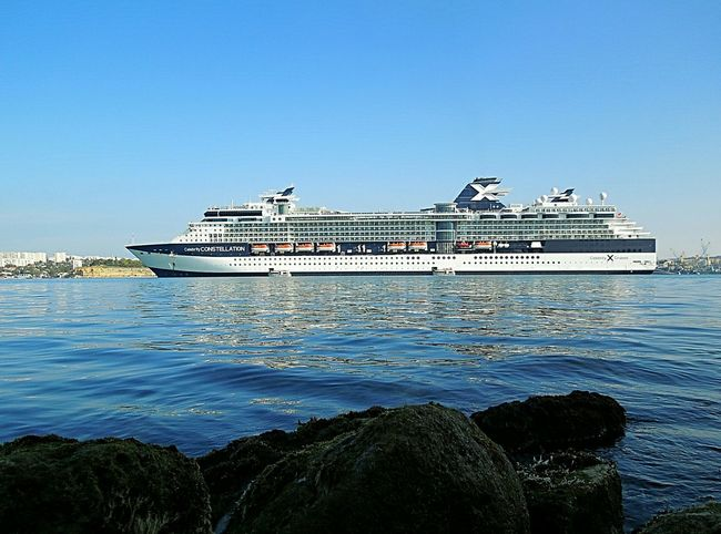 Cruise ship, CELEBRITY CONSTELATION, relax