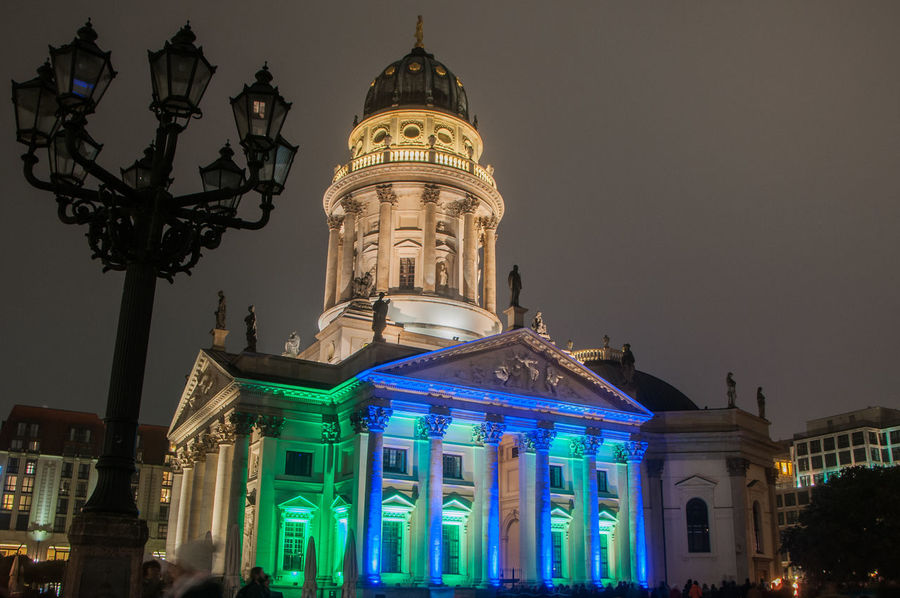 Architecture Berlin Berlin Lights City Festival Of Lights Konzerthaus Berlin No People No Salat