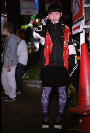 ぽこあぽこスタッフスナップ Marie Antoiletteのプリントタイツ各¥5,500+税 秋冬タイツも入荷楽しみ。 http://bit.ly/20StrBF #ぽこあぽこ #タイツ #tights #shibuya109 #marieantoilette ぽこあぽこ Pocoapoco タイツ Tights Shibuya109 マルキュー Eos1v