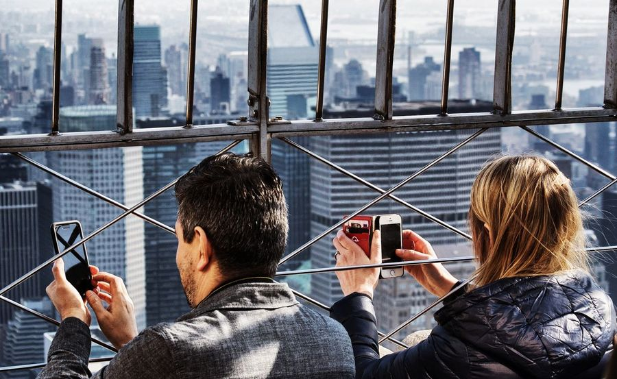 Taking Photos Of People Taking Photos NYCImpressions Empire State Building Scenery Shots Color Portrait Random People EyeEm Best Shots - People + Portrait The Traveler - 2015 EyeEm Awards Cityscapes
