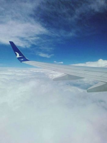 Above the clouds ☁️✈️ Anadolujet