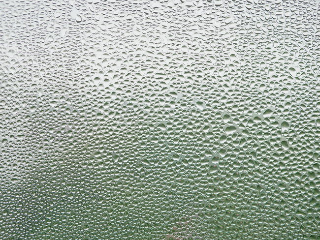 Water droplets on a cold window pane Bright Relaxing Background Backgrounds Close-up Cold Temperature Condensation Condense Defocus Drop Droplets Full Frame Glass - Material Indoors  Moisture No People Nobody Pane Pattern Phenomenal Refreshing Surface Textured  Water Window