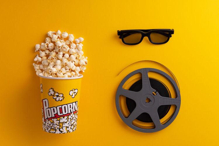 Popcorn in a