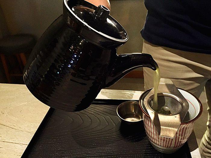 Pouring green tea to a cup Enjoyingevening Greentea Ocha Hanging Out Shiraku Soba Taking Photos Enjoying Life Enjoying The Moment Feeling Good Drinking Tea Tea Time! Feeling Thankful