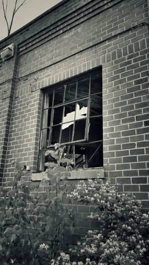 Abandoned Buildings Abandoned Places Taking Photos Broken Glass Broken Window Black And White Photography