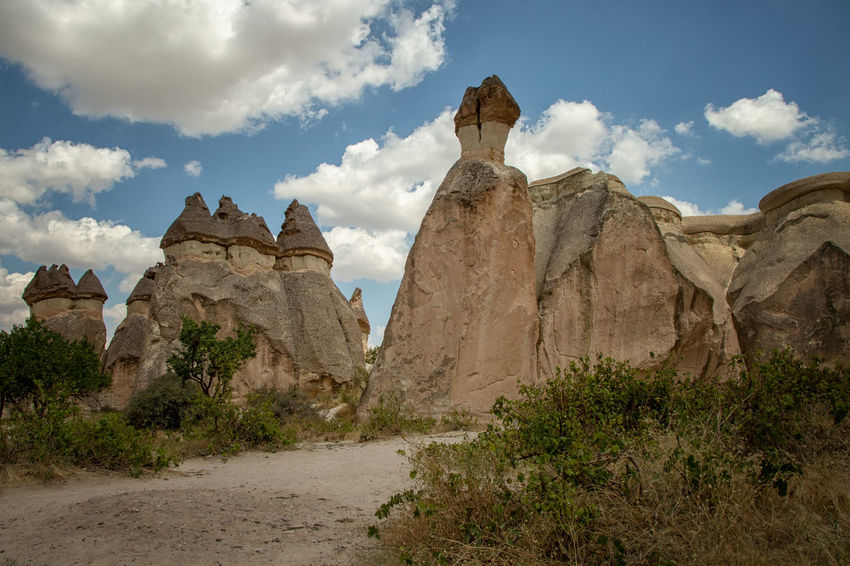 Cappadocia Cappadocia Cappadocia/Turkey Earth Rock Formation Turkey Arid Climate Beauty In Nature Climate Cloud - Sky Eroded Geological Formation Geological Landscape Geology Landscape Nature Physical Geography Rock Rock - Object Scenics - Nature Sky Solid Tourism Tranquility Travel Travel Destinations