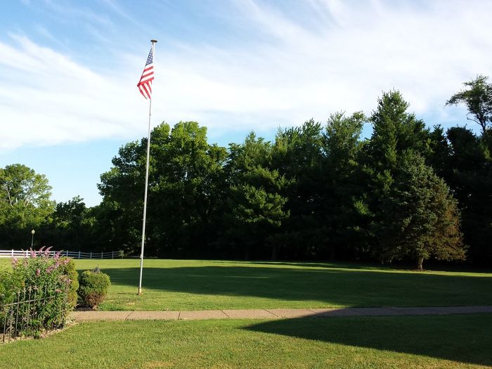 Flag outdoors