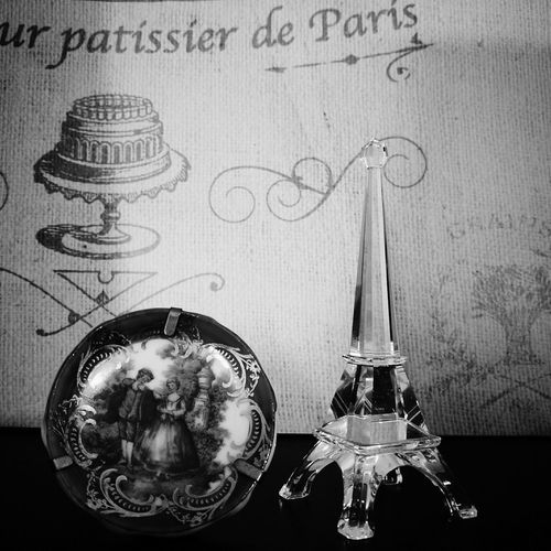 Souvenir Paris ❤ Black And White Parisian Chic Memory Of Travel 2015