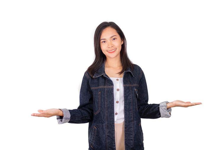 An Asian girl
