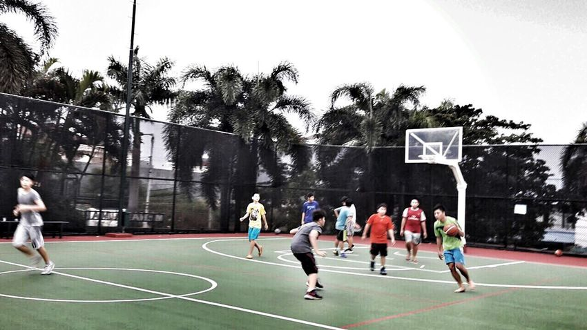 Kids Basketball - Sport Activity Sport Capture The Moment Enjoying Free Day Daytime