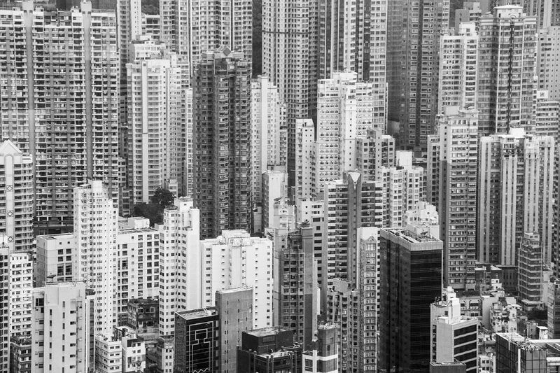 One of my favourite positions in my favourite city on the planet. Hong Kong. City Skyscraper Architecture Building Exterior Cityscape Built Structure Apartment No People Modern Tall Outdoors Day Downtown