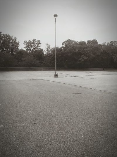 Lonely Lampost. Street Light Empty Senic Blackandwhite B&w Monochrome Lampost Urbanphotography Artsy Indiephotography Hipster Grunge