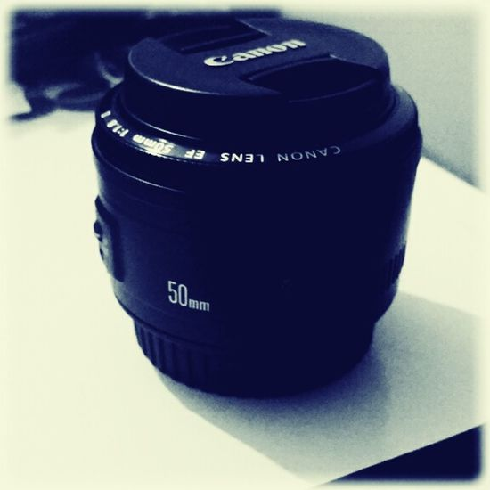My New Lens  Canon 50mm F1.8 II For My 70d