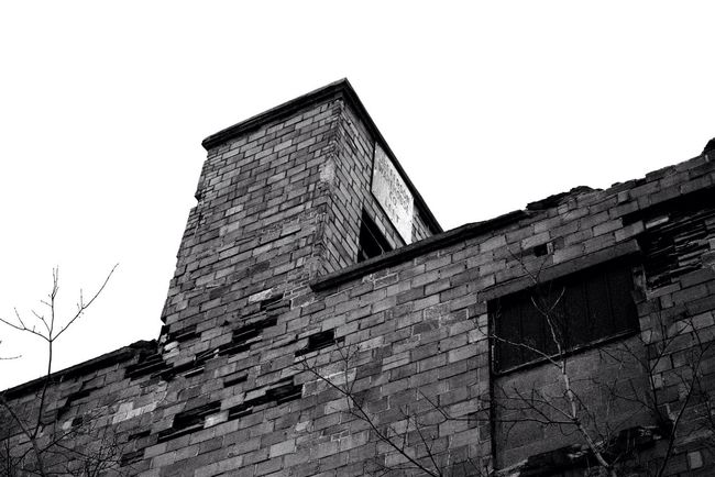 The Week Of Eyeem New York Derelict Abandoned Buildings Abandoned Places Abandoned Bricks Blackandwhite Canon B&w Sl1 Factory Architecture
