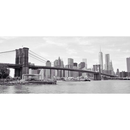 I Heart New York Brooklyn Bridge / New York Brooklyn NYC I Love New York