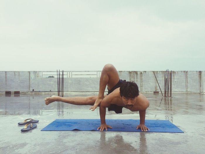 Yoga First Eyeem Photo
