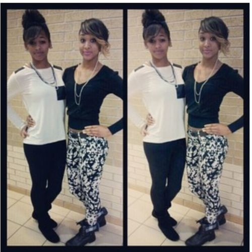 Me And My Boo Matched Today Lol ❤