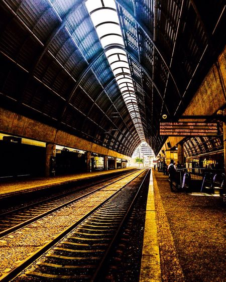 If you don't leave your comfort zone you'll never find what the world is Train Station Ermesinde, Portugal Hanging Out Intra_rail Hello World Discovering 43 Golden Moments Feel The Journey