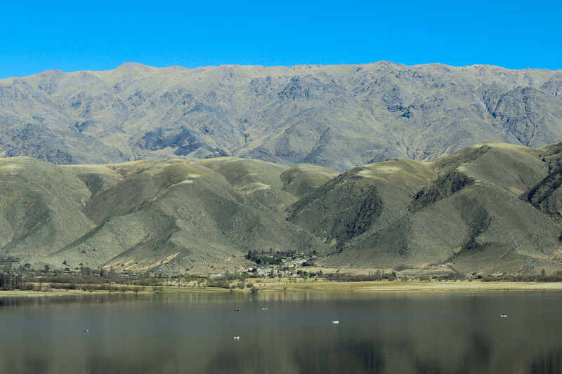 lago junto a la cordillera de los Andes Lake Andes Mountains Salta  Cafayate, Salta, Argentina! Geology Water Lake Blue Day Nature Clear Sky Outdoors Sky Scenics No People Landscape Mountain Beauty In Nature