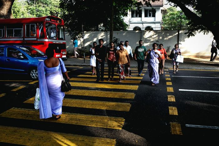 A day in Colombo EyeEm Selects Street Streetphotography City Cityscapes Sri Lanka Colombo People Transportation Outdoors Road Public Transportation