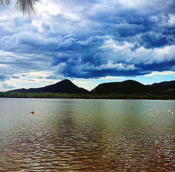 Mountain Beauty In Nature Water Scenics Outdoors Cloud - Sky Landscape Nature Tranquil Scene Tranquility Lake Mountain Range Sky Cultures No People Day
