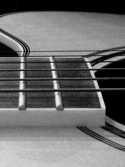 First Eyeem Photo Black And White Guitar Music