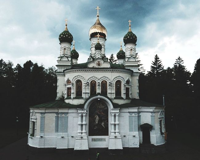 Archtecturalphotography Ukraine Coulds And Sky Church Live In The Moment Love To All