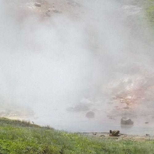 Volcanic  Paintpots Yellowstone
