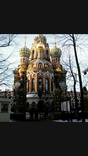 Russia I Love Piter Spas Na Krovi Sankt-Petersburg Building Exterior Architecture Built Structure Belief Place Of Worship Building EyeEmNewHere