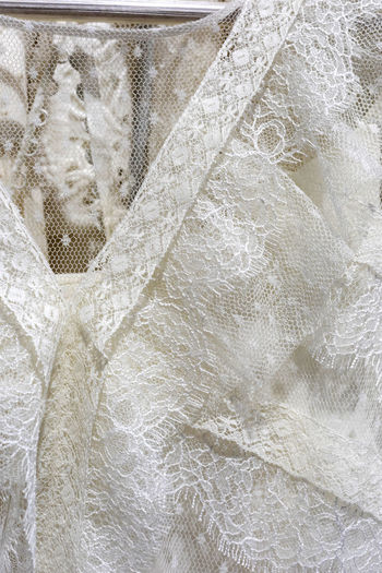 Wedding Official Romance Decoration Fabric Background Clothing Day Close Material Up Romantic Floral Marriage  Pattern Accessories Ceremonial Textile Fine White Details Veil Embroidery Closeup Bridal Ornament Lovely Lace Woman Detailed Female Texture Valentine Graceful Shiny Decorative Refined Backgrounds Full Frame White Color No People Textured  Close-up Wedding Dress Indoors  Abstract Crumpled Abstract Backgrounds Industry Dress Fashion Lace - Textile Textured Effect