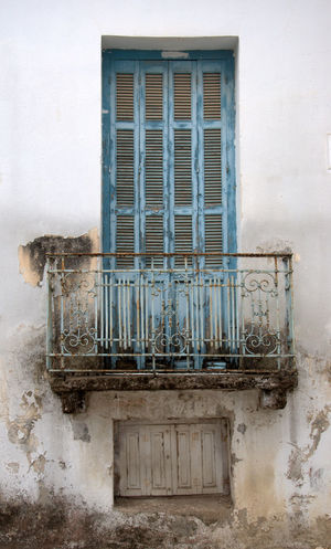 a beautyful old shutter in an old abandoned house Architecture Built Structure Closed Day No People Old Outdoors Vintage Vintage Photo Vintage Style Wall Wall - Building Feature