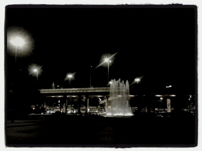 lights on the night EyeEm Blackandwhite