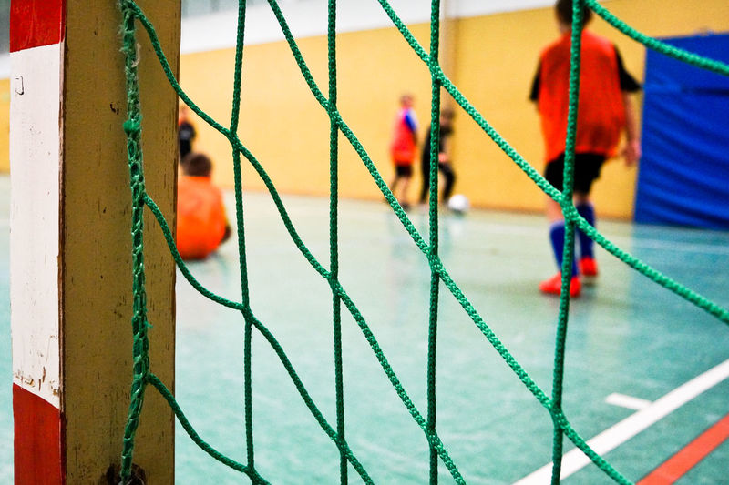 Kids Hanging Soccer Day Outdoors Indoors  Net Goal Close-up No People Indoor Sports Snow Sports Capture Berlin Finding New Frontiers Rope