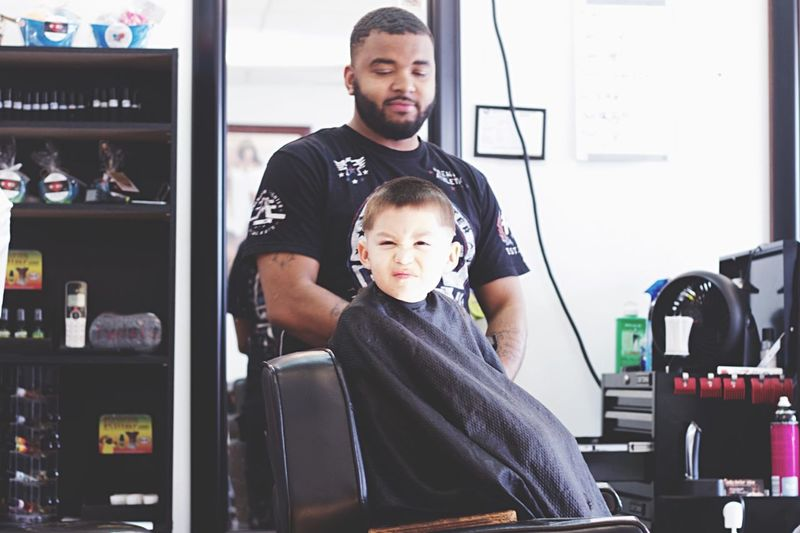 Barberlife Freahcut Kids At Play Showcase: February Taking Photos