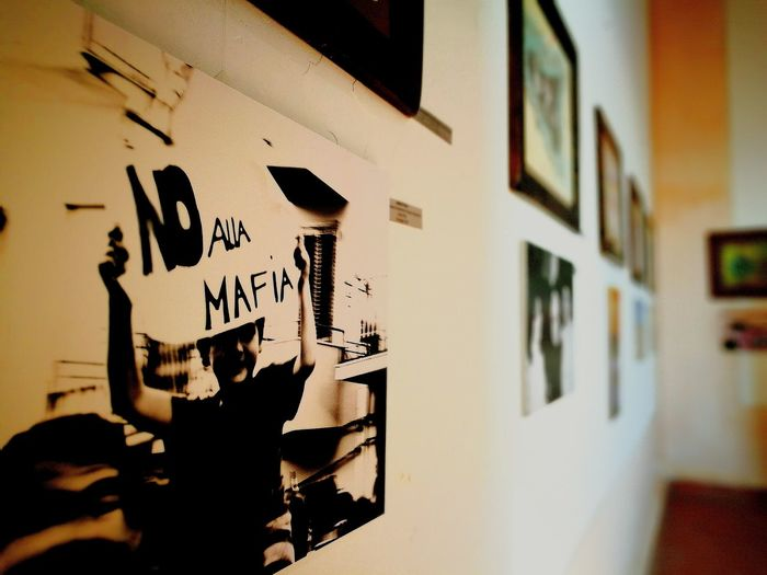 Photography Art Gallery Art Peace No Mafia Revolution Children Sicily