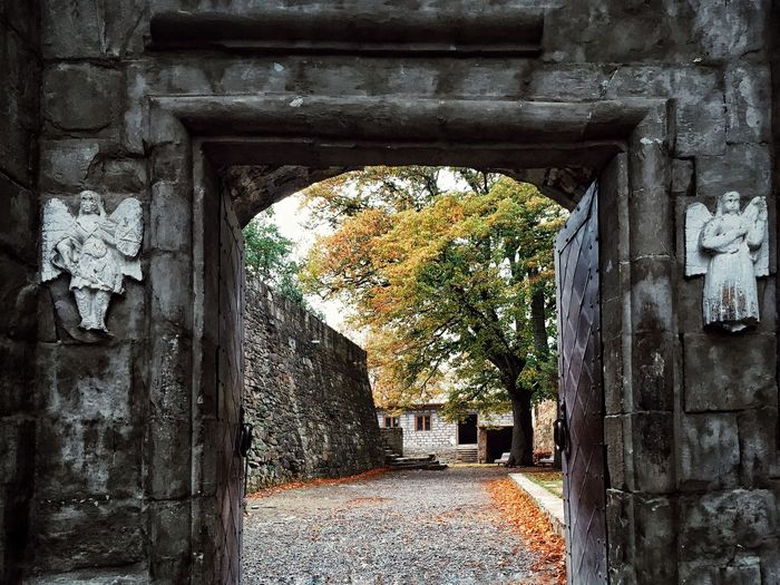 Angel Architecture Arch History Built Structure Stone Material No People Day Tunnel Indoors  Nature Ancient Civilization Close-up Church Georgia Mountain Village Mountain October Autumn Autumn Colors Leaves Nature Georgian Architecture Photography Church Architecture Perspectives On Nature Perspectives On Nature Perspectives On Nature Be. Ready. AI Now