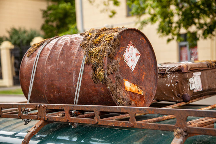 Rusted barrel