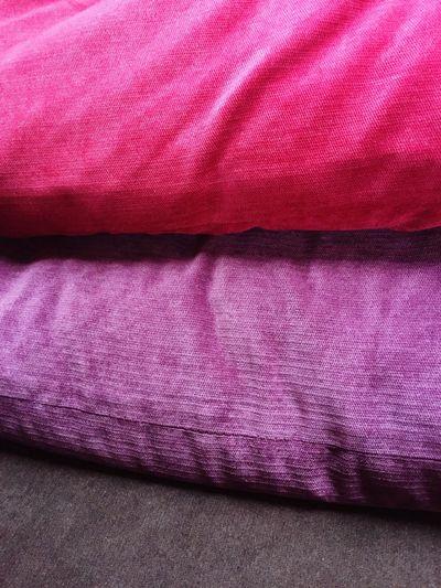Piled pillows