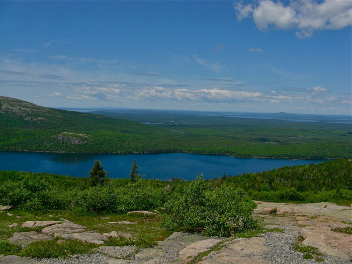 Acadia National Park Atlantic Shores Bar Harbor, Maine Cadallac Cadillac Mountain Maine Mount Desert Island Somes Sound Thunder Hole