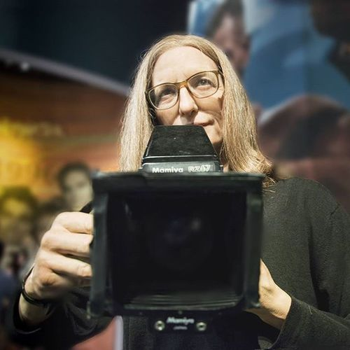 Happy World Photography Day ..ouh its yesterday Annielebovitz Myidol Madametussaudsnewyork Livethelifeyoulove womenphotographer